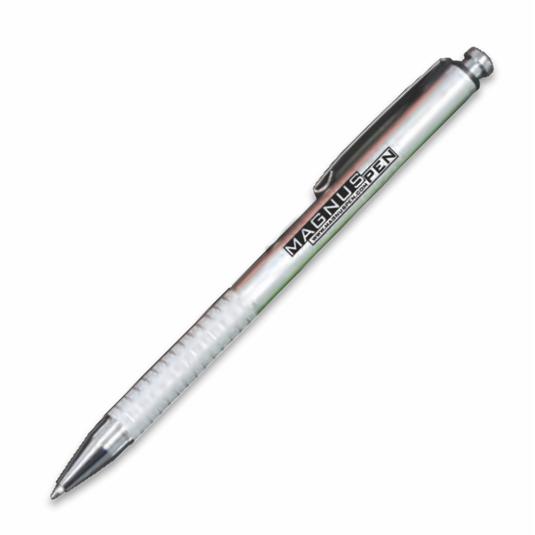 Halifax Plunger Action Ballpoint Pen w Metal Clip (3-5 Days)